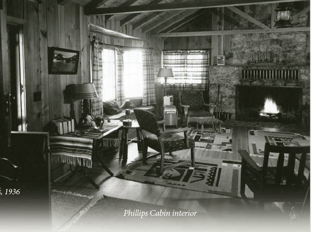 Phillips Cabin Interior